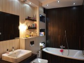 Glamour Style in bathroom